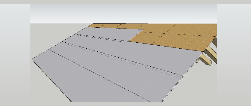 Krok3 Parotes - PIR nadkrokevni izolace Powerroof