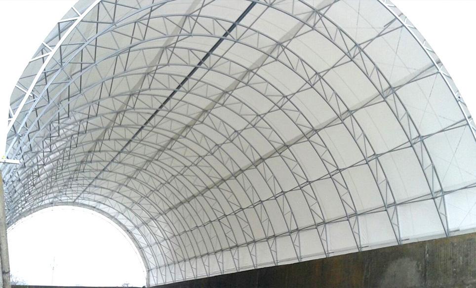 Oblouková montovaná hala